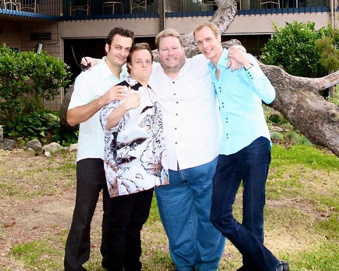 SAP, Ponce, John Zander (super publicist), & Dougie